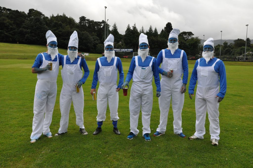 Team Smurfs