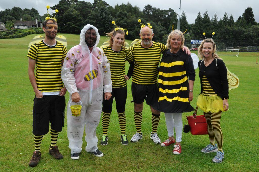 Hat-trick Harry's Bee Team.