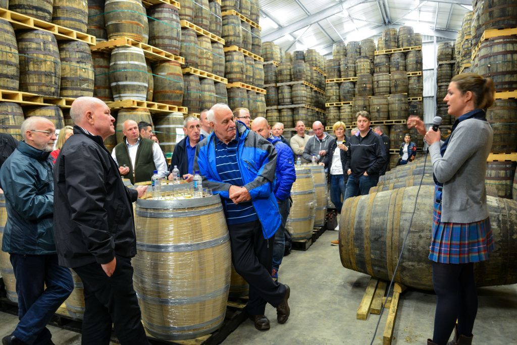 A whisky masterclass in the bonded warehouse. NO_B28_malt_06