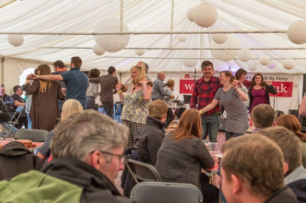 Revellers enjoying the ceilidh. NO_B28_malt_17