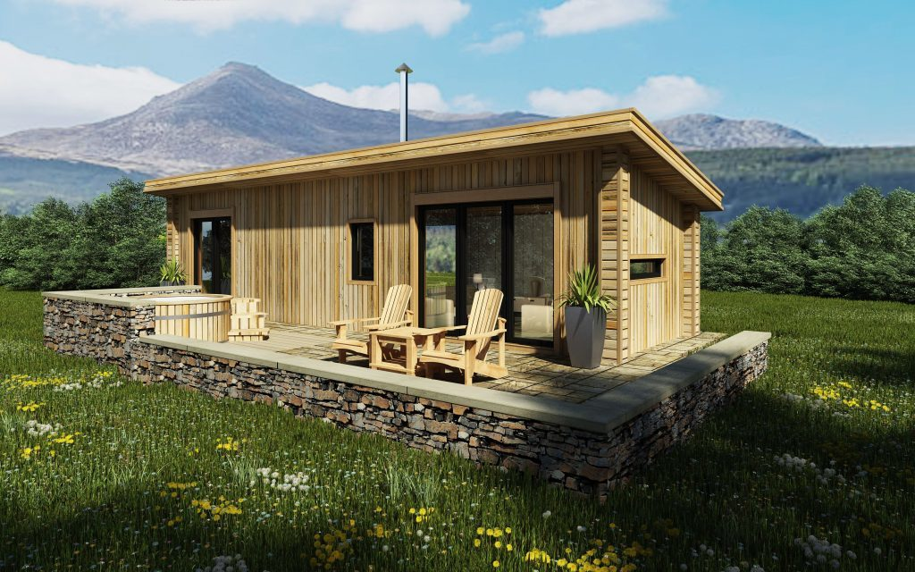 The retreats will be spaced far apart and will sit unobtrusively in their natural environment