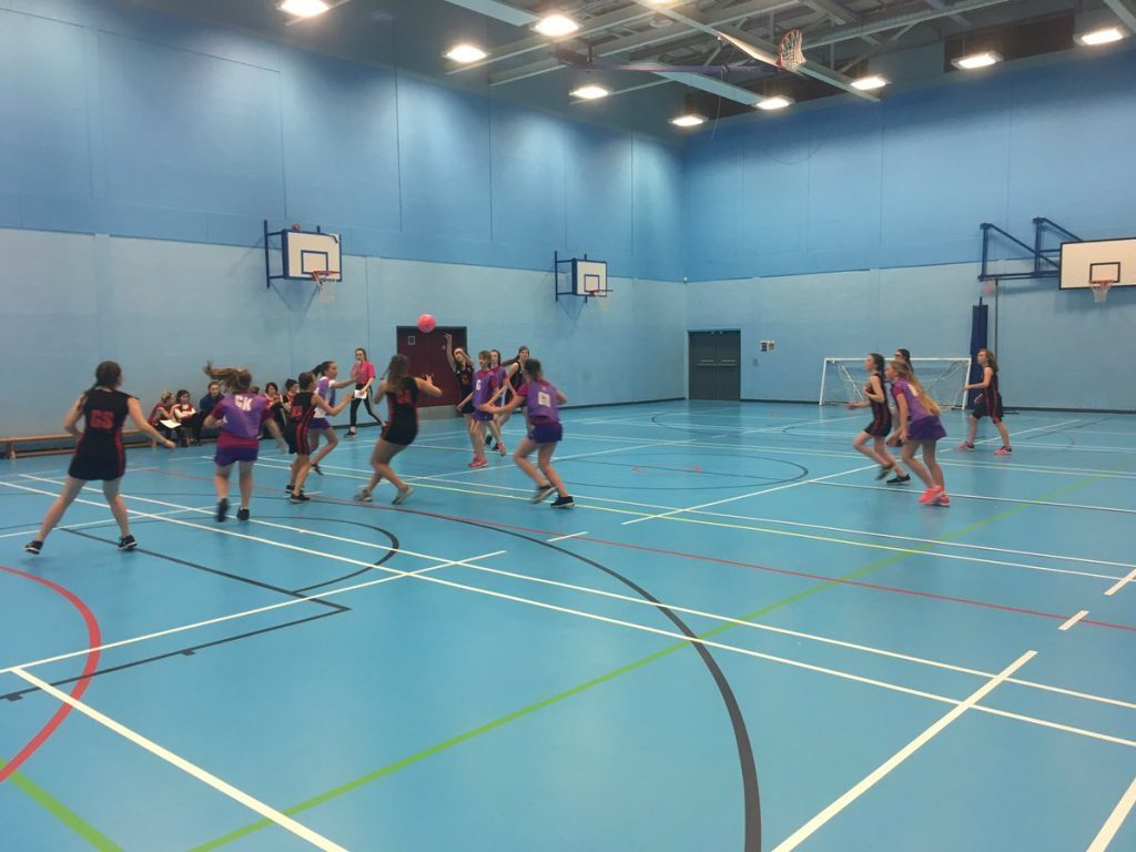 Arran's passing skills advance the ball towards their oppositions net