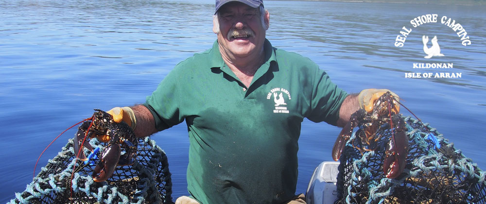 Owner Maurice Deighton is a keen fisherman and sells fresh seafood to visitors.
