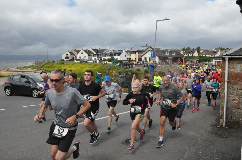 July - More than 100 runners took to the roads for the annual Shiskine half-marathon organised by the Shiskine Valley Improvements Committee