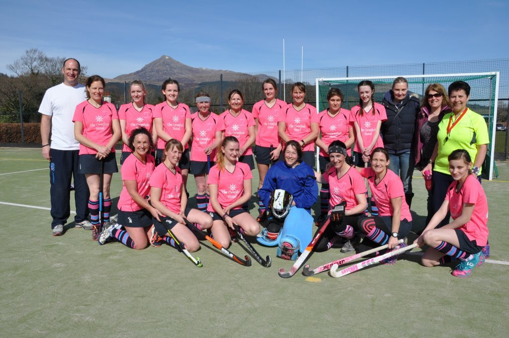 APRIL - After just three seasons Arran Ladies Hockey Club victoriously topped the Women's West District League Division 4 table. 01_B52sport06
