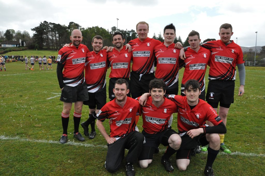 APRIL - Arran RFC made it to the semi finals but Glasgow Accies emerged as the champions at the Arran Rugby Sevens held in Brodick. 01_B52sport07