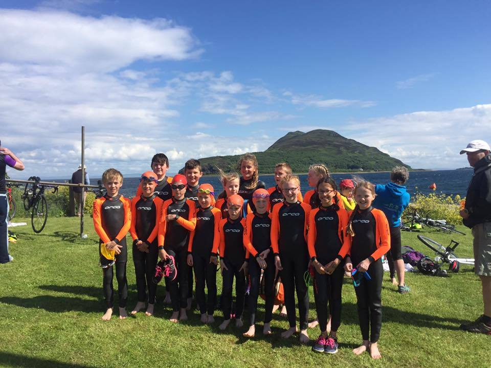 JUNE - The first Arran Triathlon Festival attracted a large entry and an opportunity for members of the Arran Junior Triathlon Club to compete in their first major event on home soil. NO_B52sport11