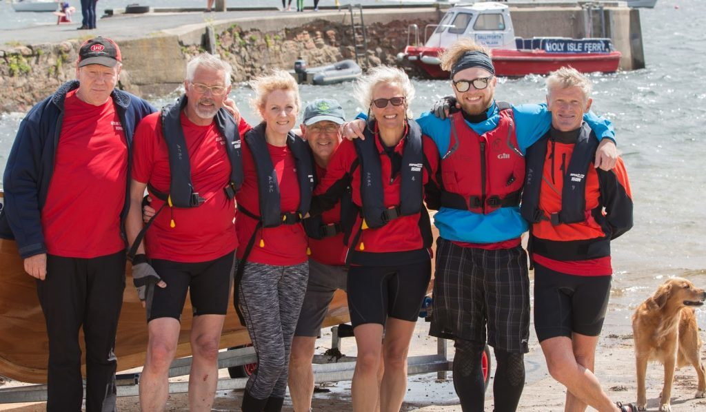 JUNE - Arran Coastal Rowing Club hosted its first regatta at Lamlash Yacht Club where they were joined by six other rowing clubs from across North Ayrshire. NO_B52sport12
