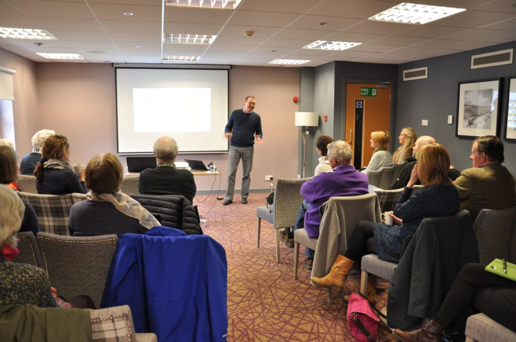 Geoff Green of UPM Shotton impressed the audience with his commitment to re-using and recycling.