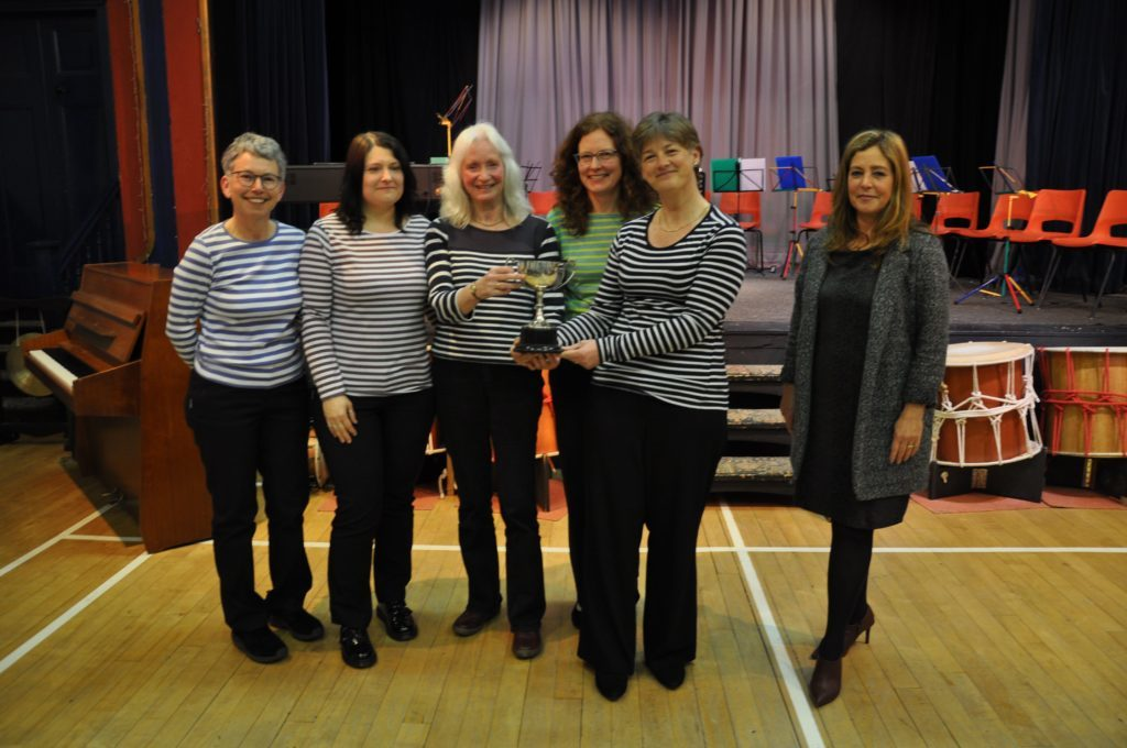 Worthy winners of the Festival Salver were the harmonic voices of the Vivace ensemble