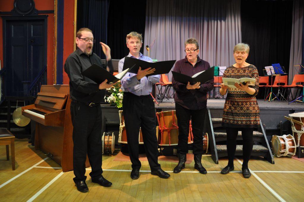 Ancadasa Quartet performed The Evening Primrose in memory of its composer