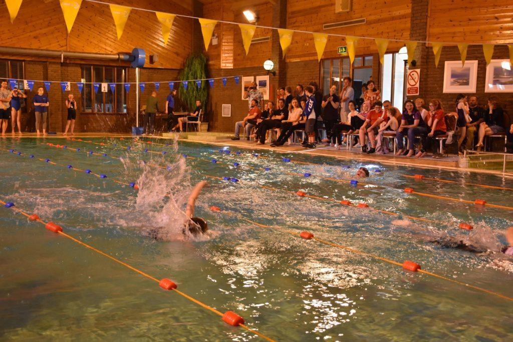 Competition was fierce for the popular front crawl category.