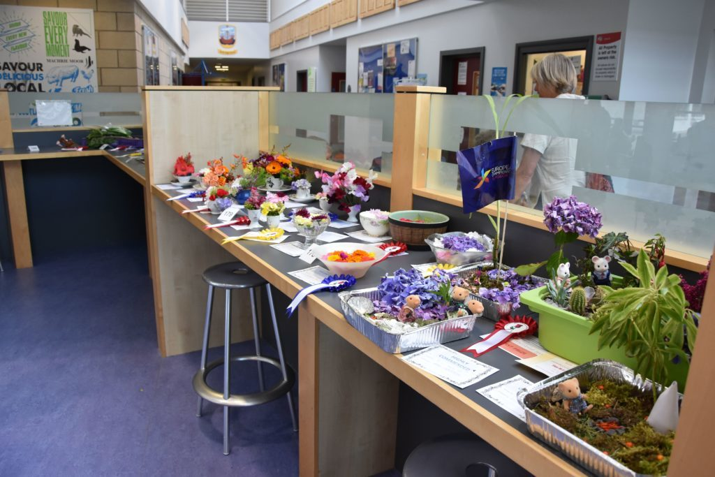 Colourful and inventive, the children's categories received a large number of entries.