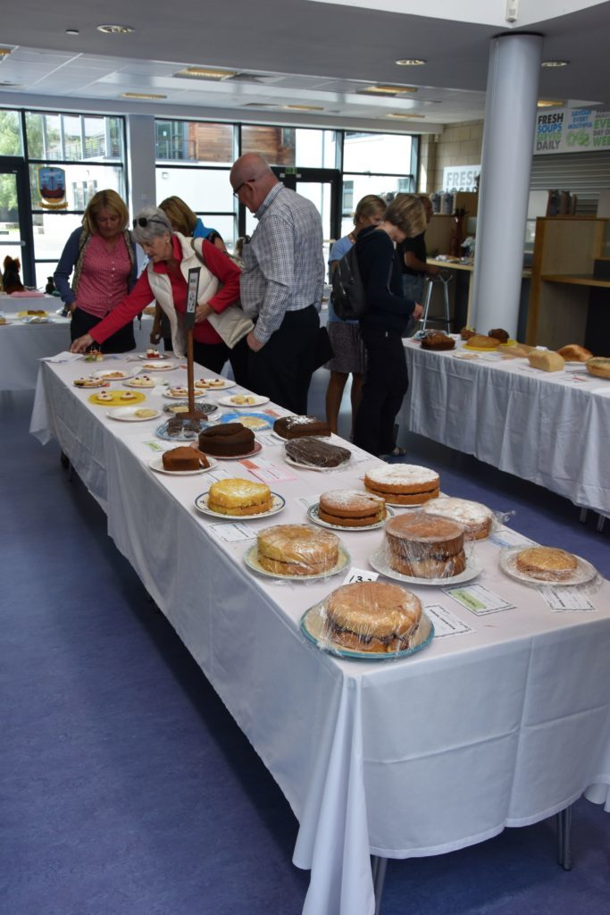 A feast for the eyes, the baking categories showed a diverse range of quality entries.