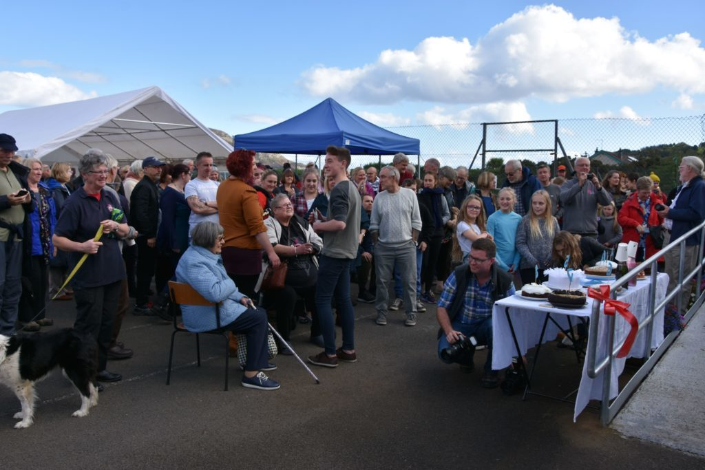 More than 150 people attended the event to celebrate the opening of the Octopus Centre.
