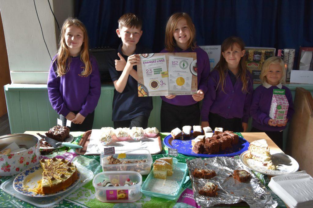Organisers of the Kilmory coffee afternoon were Kilmory Primary School's Enterprise Group.