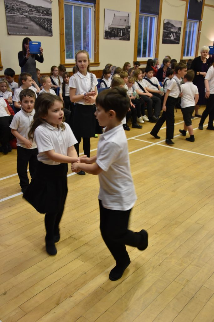 Children of all ages take part in the Day of Dance.