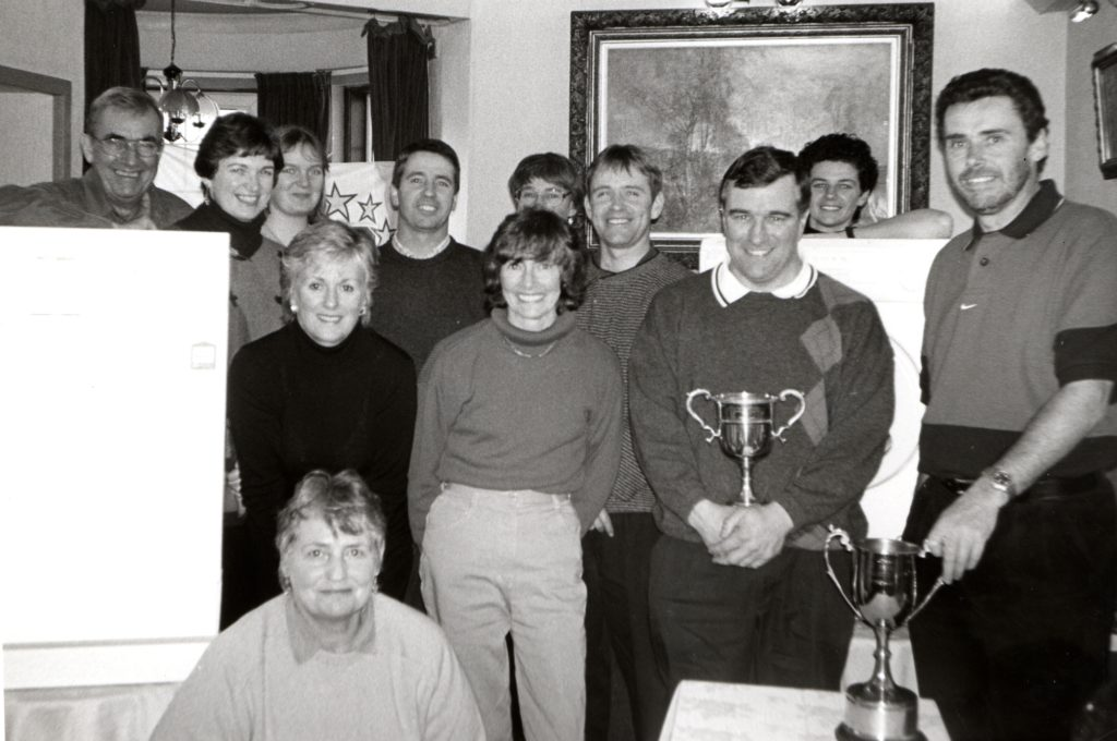 Some of the winners in the Arran Challenge trophy played at Shiskine and concluded last weekend. They are Raymond Taylor, Colin Greig, Peter Young, R Ferguson, Doris Corkindale, Wilma Robertson, Elaine Wood, Denise Sherwood, Liz Kerr and Louise McAlister.