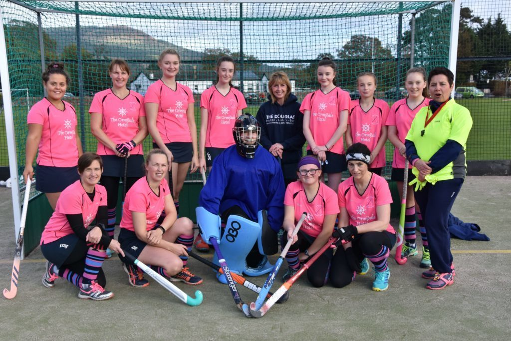 OCTOBER - The Arran Ladies Hockey Club team who faced Milne Craig Clydesdale Western 6's in their opening home game of the season at the Ormidale Astroturf.