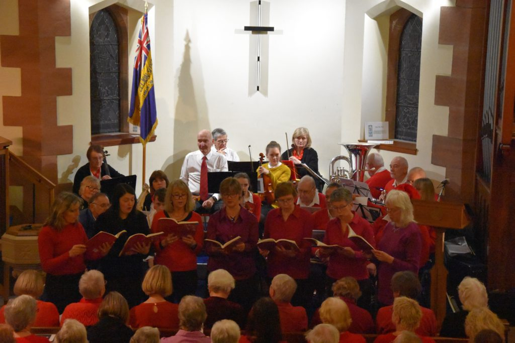 Vivace perform a tradition carol Past Three O'Clock.