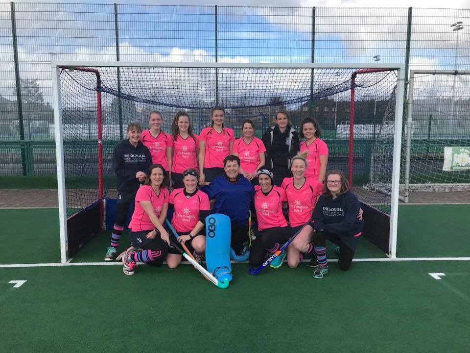 MARCH - The Arran Ladies Hockey Club ended their season on a high note with a hard fought victory against Glasgow High Kelvinside Ladies 3s led by captain Annie Watts and vice captain Lorraine 'Hurricane' Hewie.
