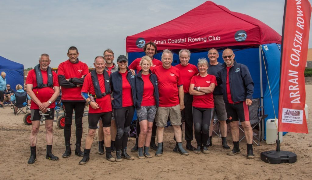 JUNE - Arran Coastal Rowing Club hosted their second regatta at Lamlash attended by 170 rowers from across Scotland.