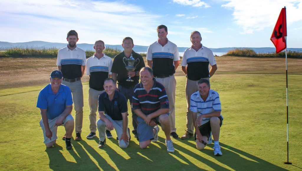 JULY - Brodick Golf Club, winners of the AGA Hope Cup for the fourth time in five years.