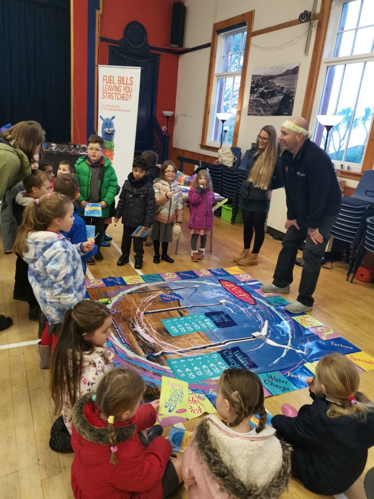 A popular activity, children enjoy the challenges of energy monopoly.