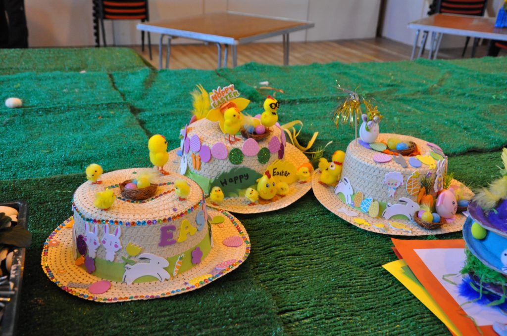 The Easter bonnet category illustrated the high level of quality entries.