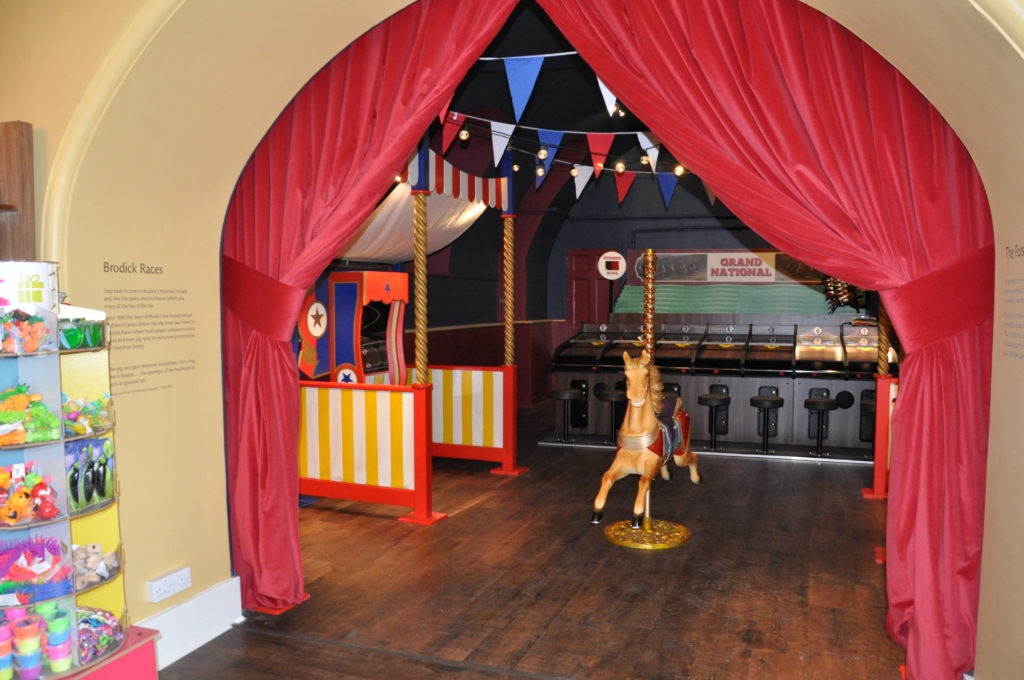 The Victorian games room.