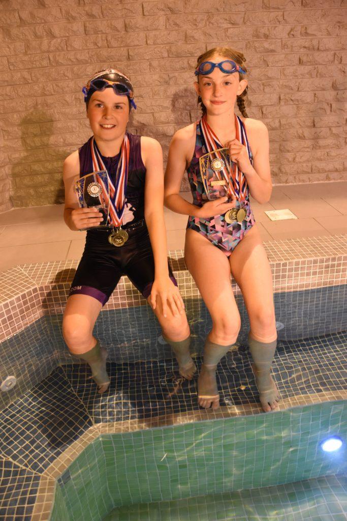 Gala champions Jack Popplewell and Ruby Wright.