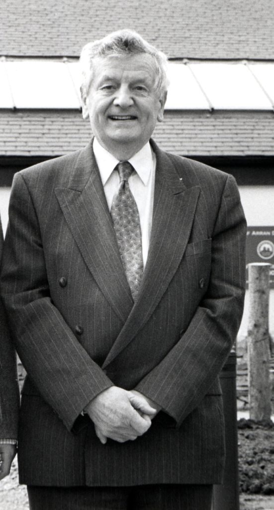 Harold Currie, the man responsible for founding the Isle of Arran Distillers five years ago has retired as chairman and will take on the role of president this week.