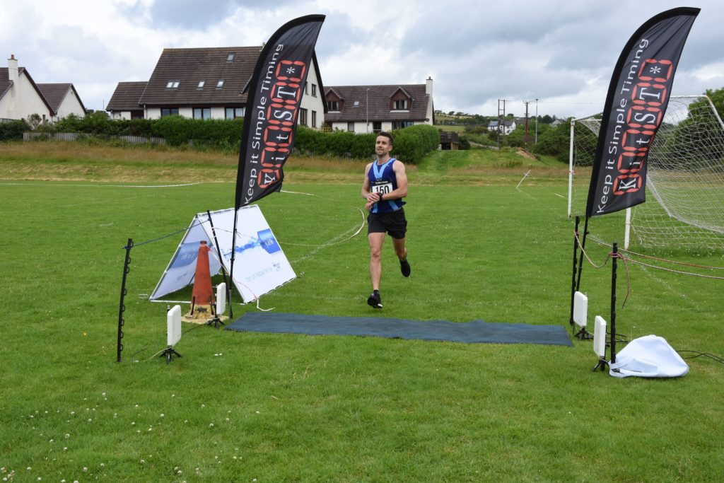 In first place, Gregor Yates of Bellahouston Harriers.