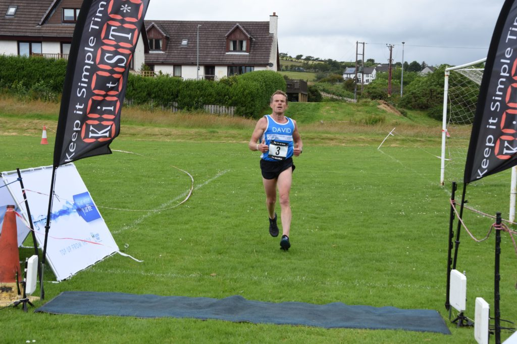 Former Arran runner David Allsop included the Arran half marathon in his five marathon challenge in aid of UNICEF.