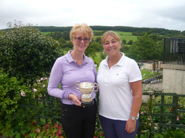 Winner of the Glenkiln Rosebowl at Lamlash was Ruth Hardy with runner up Alison Heron.