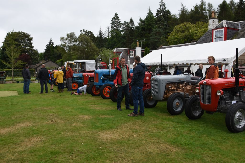 Visitors had the opportunity to speak to the owners of the tractors to learn about the history of the various machines.