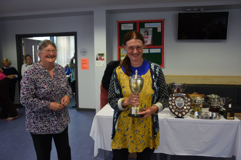 Alice Maxwell was the winner of the Allen Mckay Memorial Quaich.