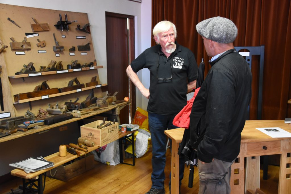 Stuart Gough answers questions about the remarkable collection of vintage woodworking tools that he has amassed over the years.