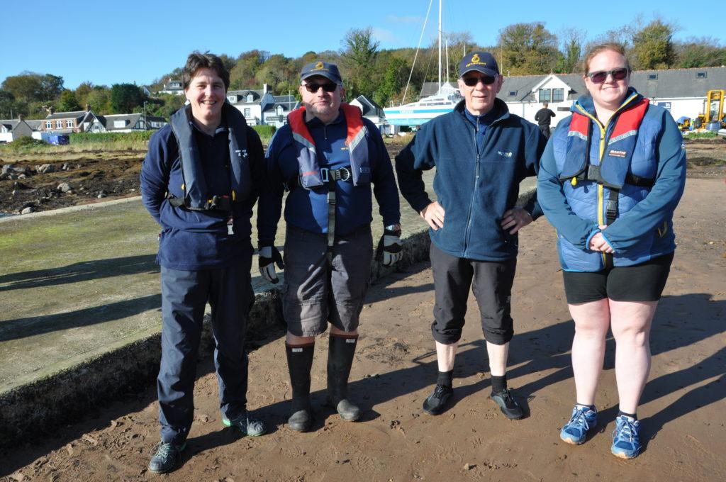 The Coastguard team.