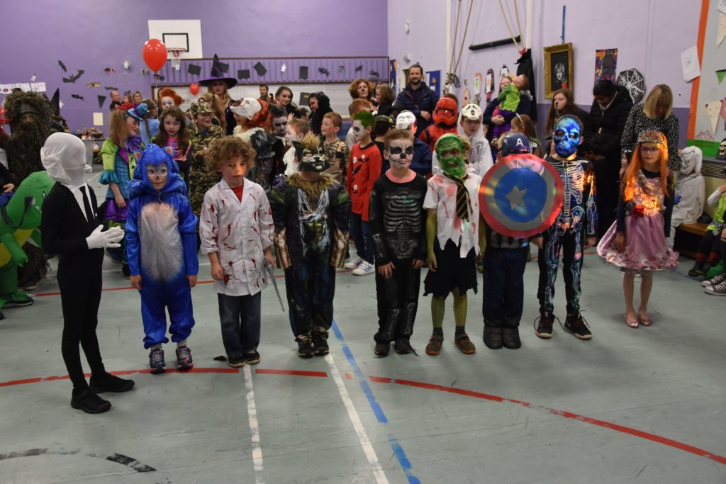 Lamlash P3 pupils included a number of scary and fantasy characters, and a princess.