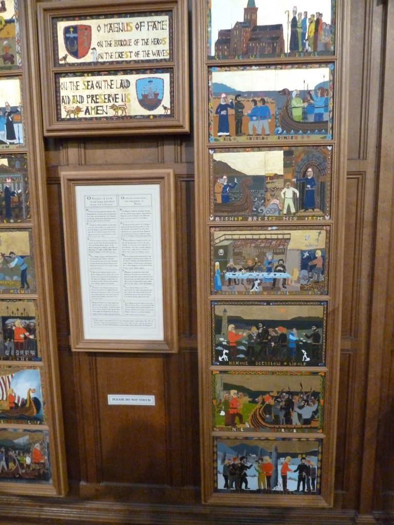 How the Arran panels came to be created for Orkney catherdral