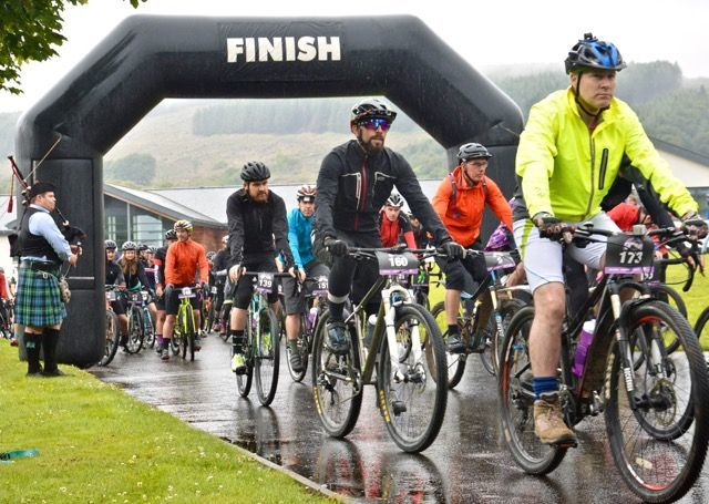 Grinduro takes the right route with first Scottish cycling event.