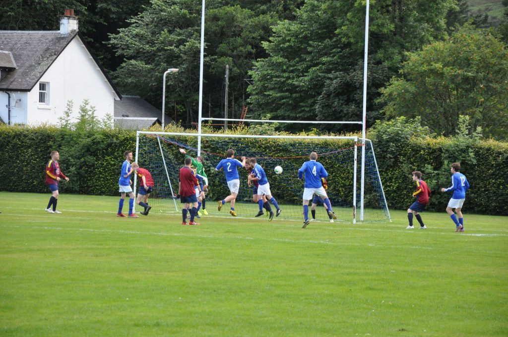 Double hat-trick for Archie as Brodick remain undefeated
