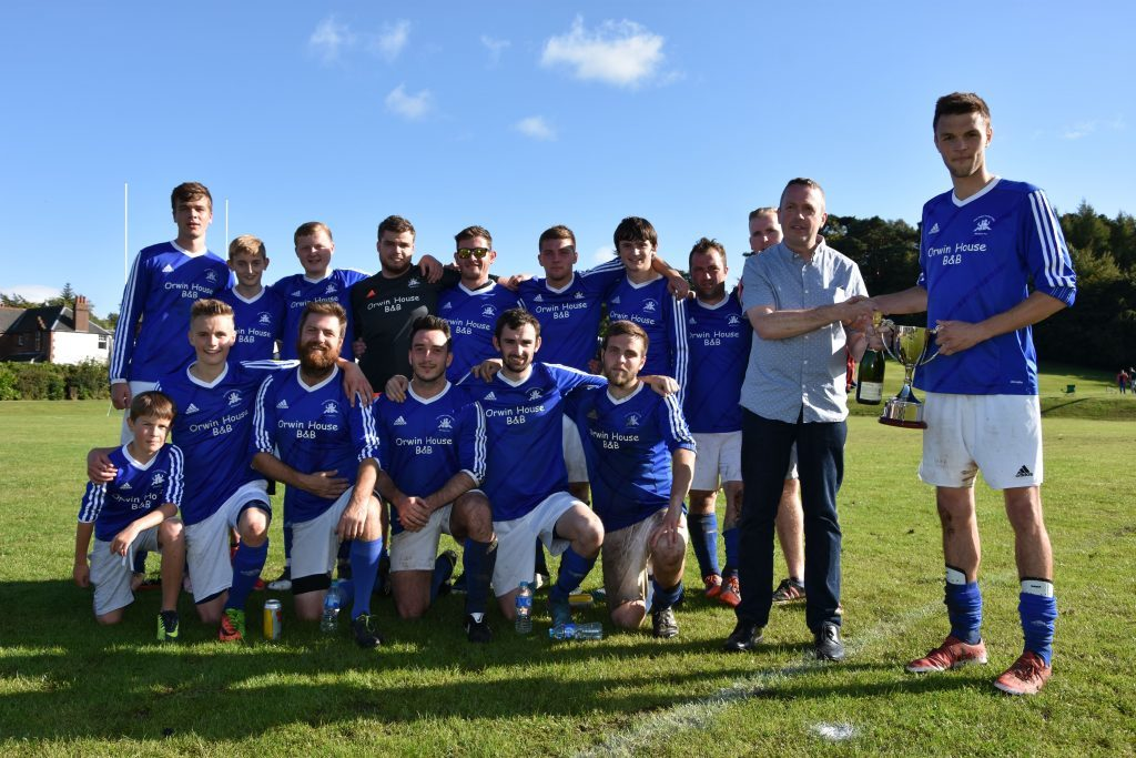 It's a knockout win for Brodick