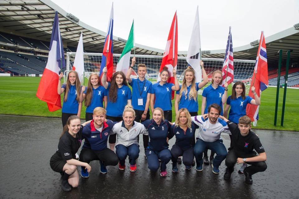 Ross encourages new wave of young sports ambassadors