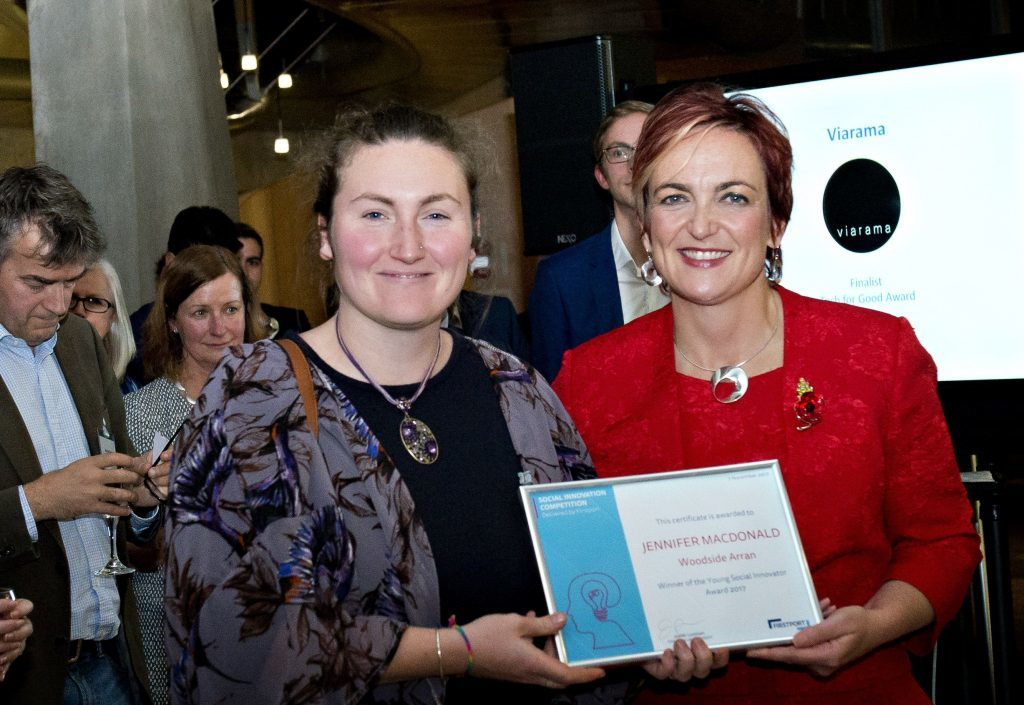 Arran farm wins innovation prize