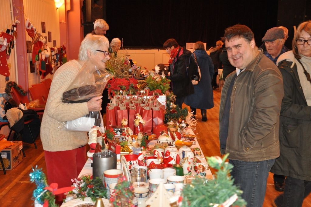 First festive fayre is a cracking success
