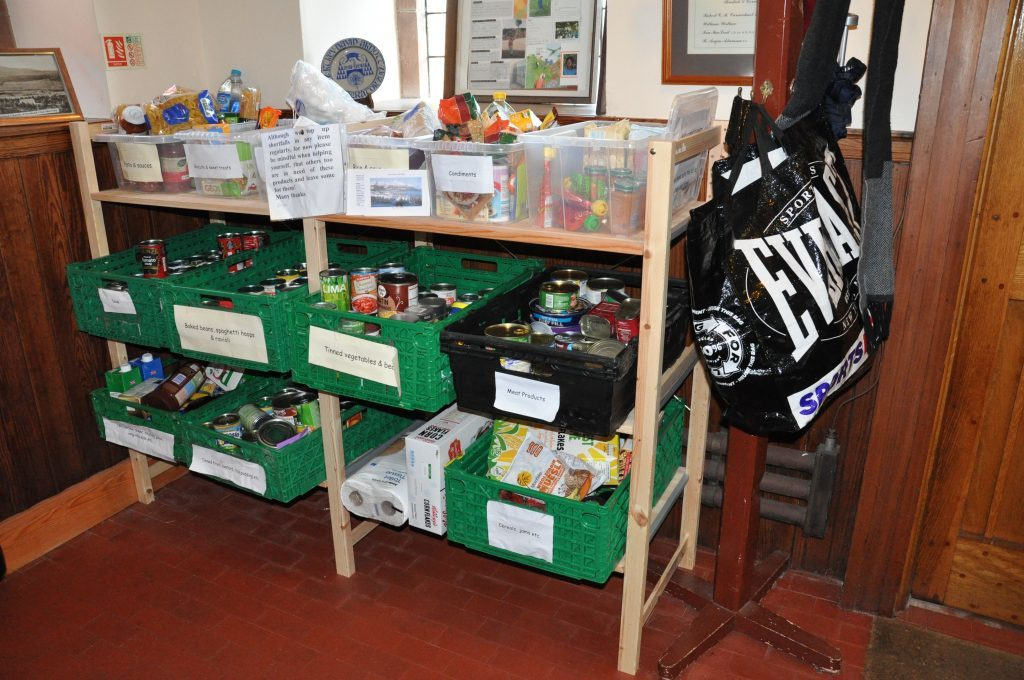 Brodick food bank is open all hours