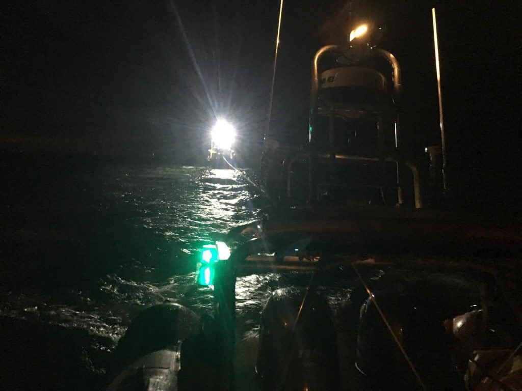 Lifeboat rescues stricken fishing boat
