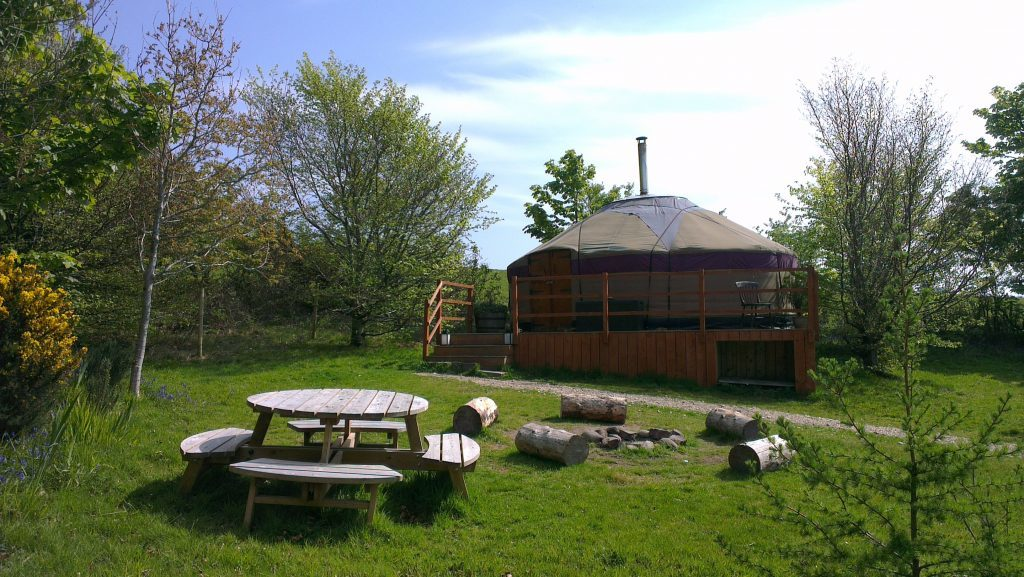 Runach Arrainn is glamping site of the year